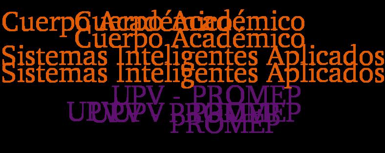 CA SISTEMAS INTELIGENTES APLICADOS UPV-PROMEP